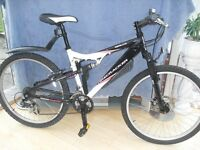 ADULTS GOOD QUALITY FIRE CRACKER FULL SUSPENSION MOUNTAIN BIKE WITH DISC BRAKE