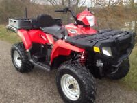 POLARIS SPORTSMAN HO 500 EFI 2 SEATER GRIZZLY TRX ATV 500 FARM QUAD 700