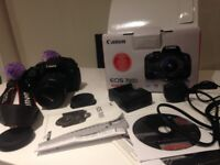 Excellent Canon 700D EOS DSLR CAMERA KIT £330