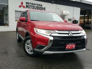 2016 Mitsubishi Outlander ES 4WD; CERTIFIED PREOWNED!