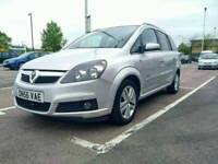 2007 VAUXHALL ZAFIRA 1.8 DESIGN MANUAL PETROL LOW MILEAGE 7 SEATER **REDUCED TO £1750**