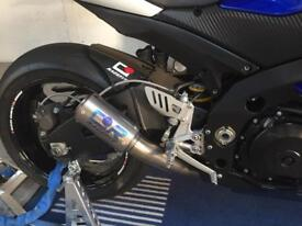 CR racefit titanium end can for GSXR 1000