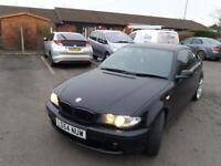 Black BMW 318 CI ES AUTO COUPE
