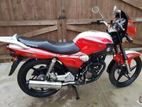 125cc bike 2700 miles only ybr rkv cbf cg gn