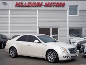 2008 Cadillac CTS 4 AWD 3.6L / HIGH FEATURE / LEATHER / SUNROOF