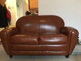 Jazz Club Leather Sofa by Made