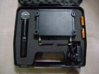 shure wireless microphone system