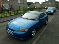 Hyundai coupe just Moted for a year low mileage