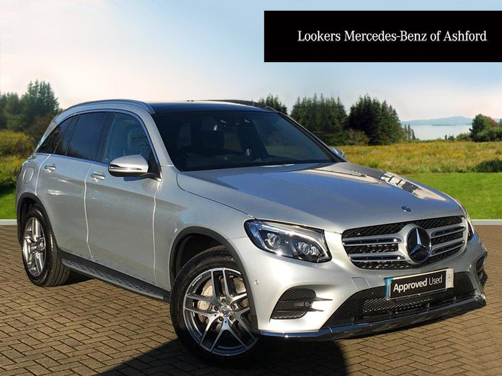 mercedes benz glc class glc 250 d 4matic amg line premium plus silver 2017 01 20 in ashford. Black Bedroom Furniture Sets. Home Design Ideas