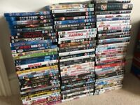 Blu Ray and DVD movies for sale over 100