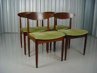 Vintage G Plan Ib Kofod Larsen Dining Chairs Retro Vintage Furniture
