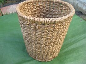 Finely Woven Sisal Rope Basket