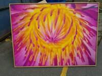 Large Flower Print.
