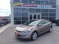 2013 Hyundai Elantra Limited W/ NAV & BACK UP CAMERA