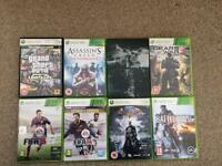 Xbox 360 games bundle GTA, FIFA, BATMAN