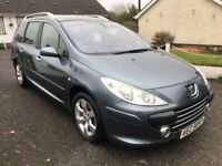 2008 Peugeot 307 SW Estate 1.6hdi **Finance available / Cards Accepted**