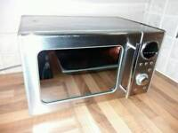 DAEWOO Stainless steel Microwave/ GRILL