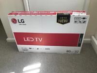 "LG 32"" LED Television- Boxed"