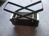 Steel paper log maker for fires