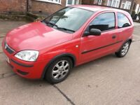 MUST GO..CORSA 2005..MOT AUG18. .FSH..99800..MILES..BRILL RUNNER..IN OUT CLEAN...