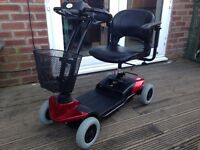 days strider st1 mobility scooter comes apart to put in a car cost £750 new genuine bargain £295ovno
