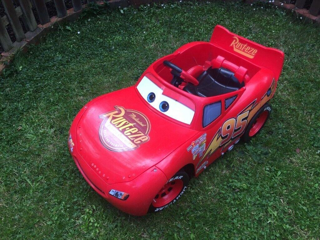 Lightning Mcqueen Electric Car