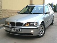 **CHEAP 2003 BMW 3 SERIES 320d E46 TOURING £1995** TURBO DIESEL 525d 530d C220 520d CDI 330d m sport