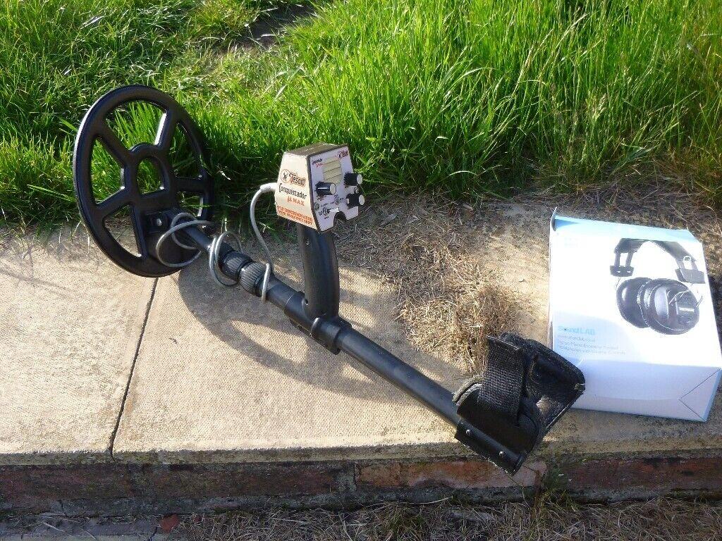 TESORO CONQUESTIDOR MOTION METAL DETECTOR OLDEN MASK TELESCOPIC STEM | in  Belper, Derbyshire | Gumtree
