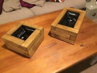 Handmade wooden planter boxes. Various Sizes. Tanalised responsibly sourced timber.