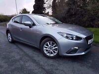 Like New 2016 Mazda 3 2.0 Skyactiv SE NAV 120ps 5dr