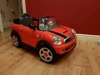 Mini Cooper Kids Electric Ride On Car