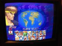 "JVC 14"" retro gaming CRT video monitor [RGB, SDI, Comp, S-Vid, HR 750+ TV Lines]"