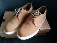 Dr martens softwair biscuit suede shoes