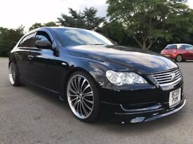 SUPERB TOYOTA MARK X BLACK 2.5 V6 (NOT GS300 IS250 MARK X) NEW IMPORT