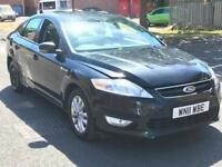FORD MONDEO 2011 AUTOMATIC MOTD SPARES OR REPAIRS
