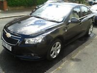 2009 Black Chevrolet CRUZE 1.8 Petrol 5dr, Mot, NAVI, low mileage, drive smoothly