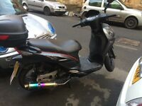 Sym symphony 125sr 125cc moped swap for another 125cc