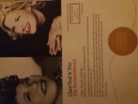 2 tickets for'Ella Remembered' concert