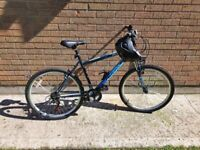 Falcon Odyssey Mens Bike with new helmet and bottle holder