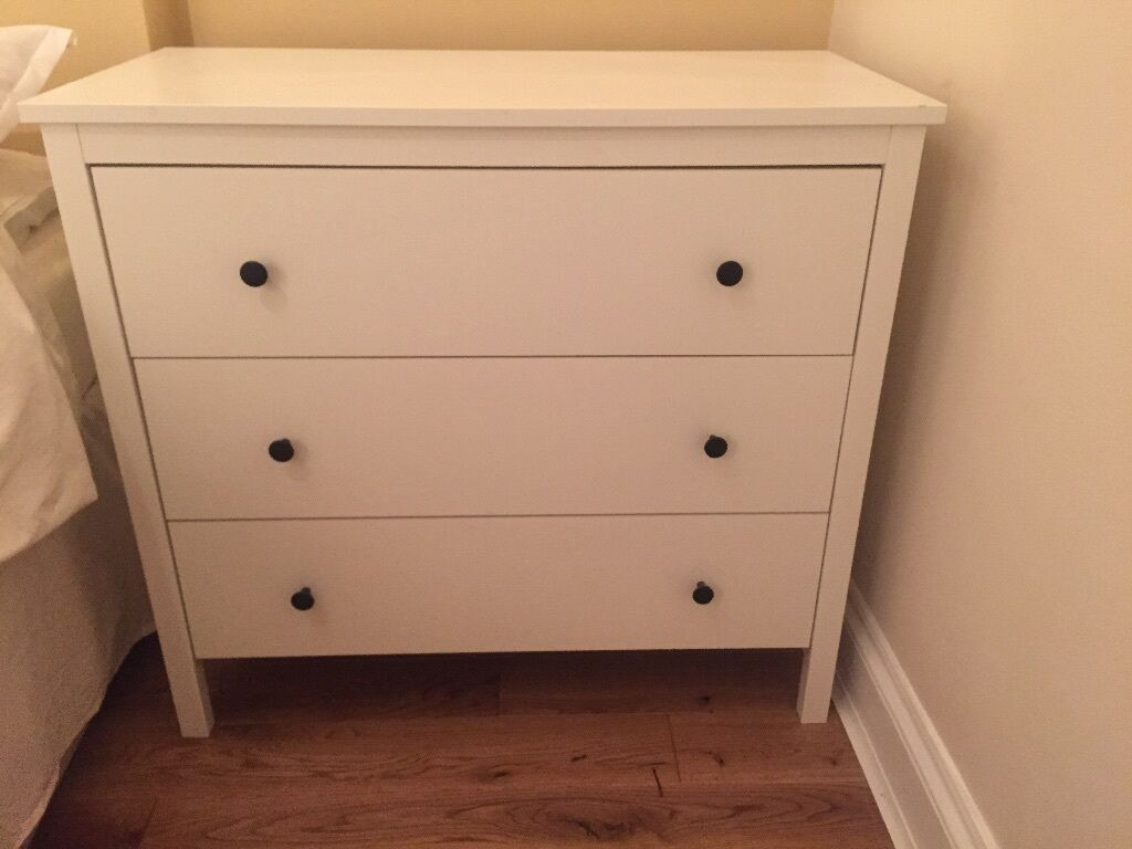Ikea Koppang Chest of 3 drawers, white Excellent condition in Clapham Common, London Gumtree