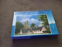 1,000 piece Suffolk Village jigsaw puzzle