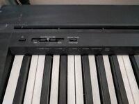 Yamaha P45 Digital Piano and Extras