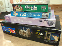 Bundle of 3 puzzles and 1 game