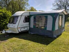 ABI Daystar 2 birth Caravan with Awning & Extras. - Deposit taken.