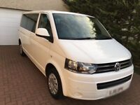 PRIVATE HIRE VW TRANSPORTER 9 SEATER RENTAL UBER EDINBURGH
