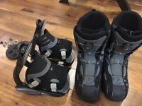 Great value FLOW boots (Boa, size US 12) + FLOW Bindings
