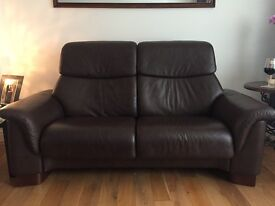 2 x Immaculate Ekornes Stressless Paradise 2 Seater Sofa