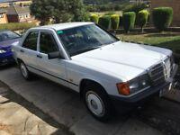 Mercedes 190 classic show car