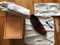 Classy Brown Mens Barker Shoes