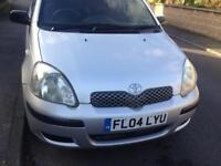 Toyota Yaris 1.3 T3 2004 Silver 5 Door Hatchback £995ono 1 owner from new